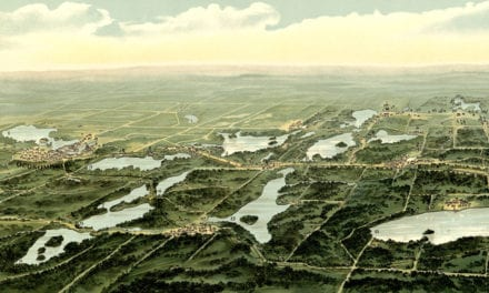 Beautiful old map of Waukesha County Wisconsin in 1890