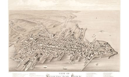 This is how Stonington, Connecticut looked in 1879