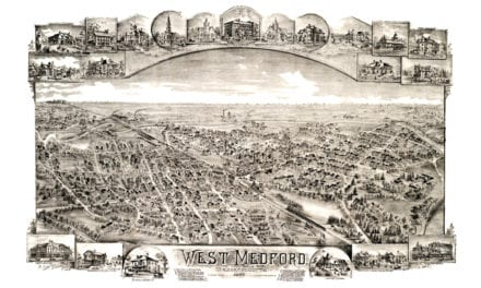 This is how West Medford, Massachusetts looked in 1897
