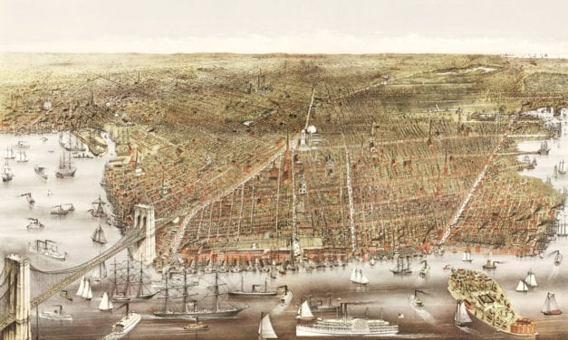 This is what Brooklyn, New York looked like in 1879