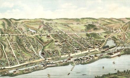 Amazing old map of Windsor Locks, CT in 1877
