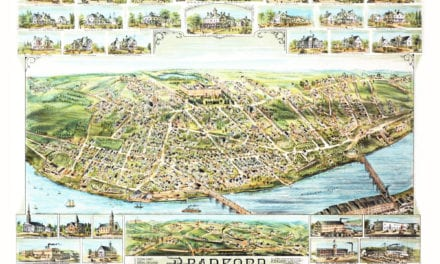 Wonderful old map of Bradford, Massachusetts in 1892