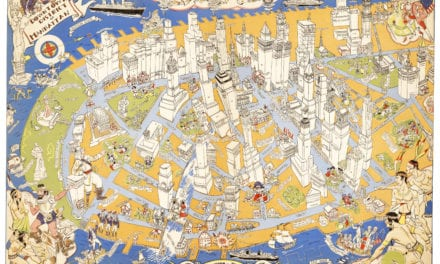 Long lost map of NYC shows locations of historical events