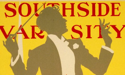 3 vintage posters from South Side High School in Rockville Centre