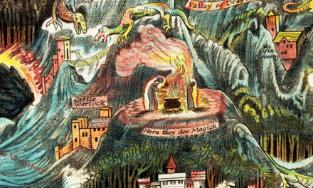 Magical map exposes the ancient lost city of Fairyland