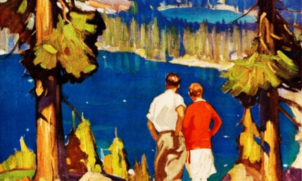 3 beautiful vintage Lake Tahoe travel posters