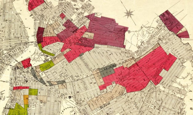 Map of Brooklyn's racial diversity by neighborhood, 1920