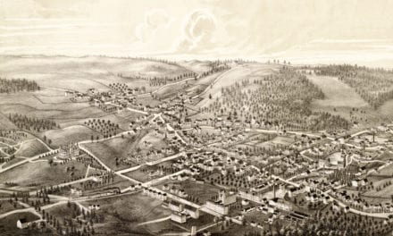 Old map of Ashburnham, Massachusetts from 1886