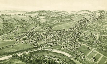 Beautifully restored old map of Turtle Creek, PA from 1897