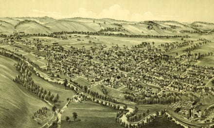 Old map reveals bird's eye view of Ligonier, Pennsylvania in 1900