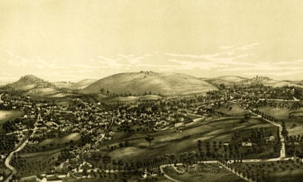 Beautifully restored map of Groton, Massachusetts from 1886