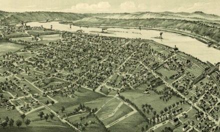Historic map of California, Pennsylvania from 1902