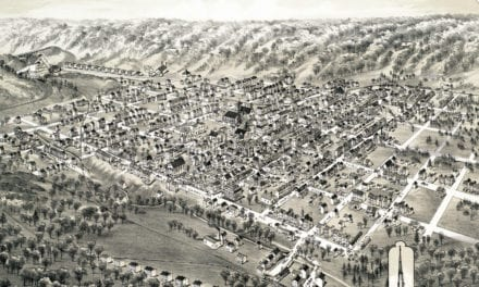 Historic old map of Mount Carmel, PA from 1884