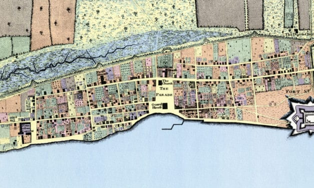Plan of the Town of St. Augustine, Florida from 1769
