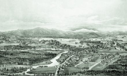 Beautifully restored map of Conway, New Hampshire from 1896