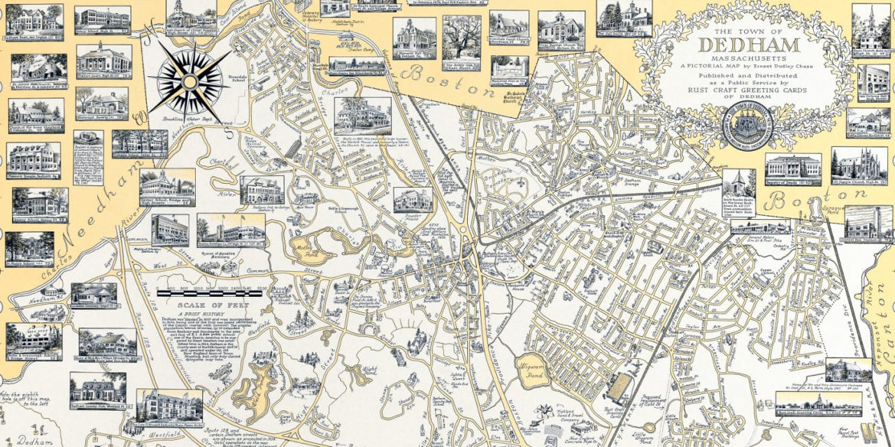 The History of Dedham, M: a beautifully detailed map from ... on ma city map, ma beaches map, norfolk county ma map, wellfleet ma map, mass city map, massachusetts county map, ma state map, billerica ma map, ma topographical map, ma toll map, ma river map, ma road map, ma region map, ma coast map, ma island map, eastern ma cities map, ma world map, massachusetts zip code map, ma on us map, ma counties map,