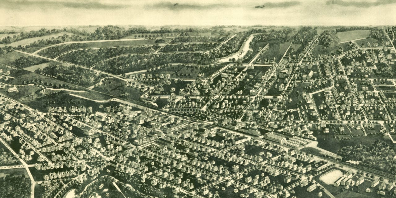 Historic view of Westwood, NJ: Restored map shows city in 1924