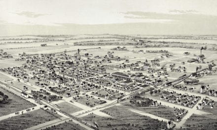 Historic old map of Whitewright, Texas from 1891