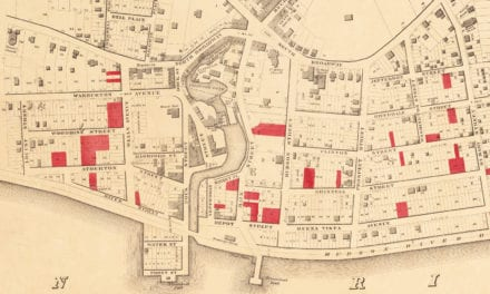 Historic old map of Yonkers, New York from 1859