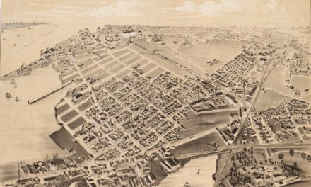 Beautifully restored map of East Cambridge, MA from 1879