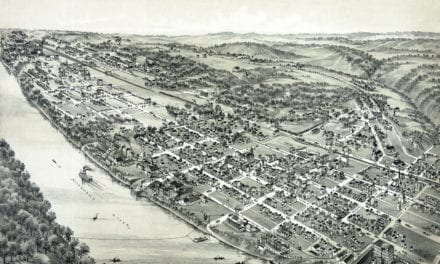Beautifully detailed map of New Kensington, PA 1896
