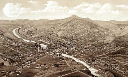 Beautifully detailed map of Orange, MA from 1883