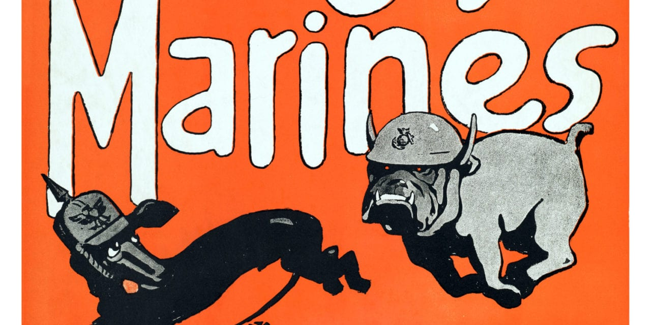 Vintage Marines recruiting posters restored to original glory