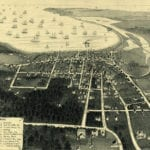 Historic map of Vineyard Haven, Massachusetts from 1893