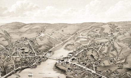 Beautifully detailed map of Westport, CT from 1878