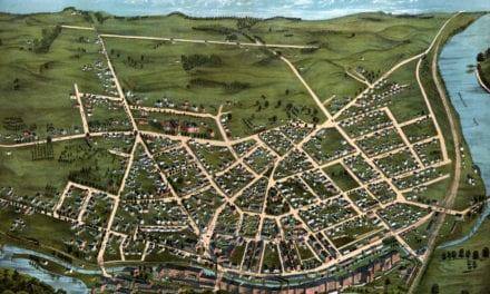 Beautifully detailed map of Chicopee, Massachusetts in 1878