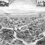 Beautifully detailed map of Mattapan, Mass in 1890