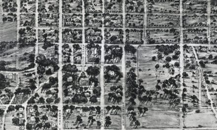 Beautifully restored map of Tallahassee, Florida from 1926