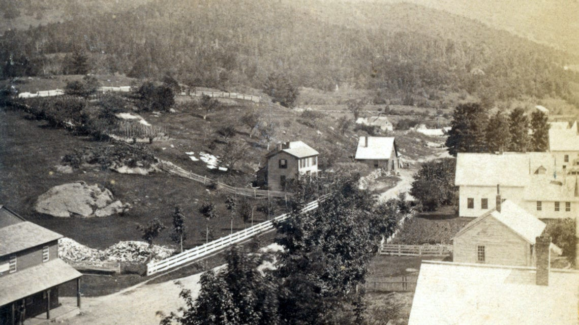 22 historic photos of Campton, New Hampshire from the 1800's