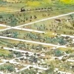 Beautifully restored map of Independence, Missouri from 1868